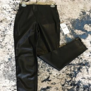 NWT Zara faux leather pant.